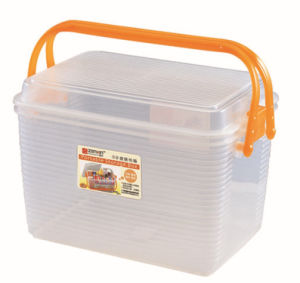 Plastic Storage Tool Handle Box for Household pictures & photos