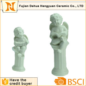 Ceramic Angel Shape Craft for Home Decoration pictures & photos