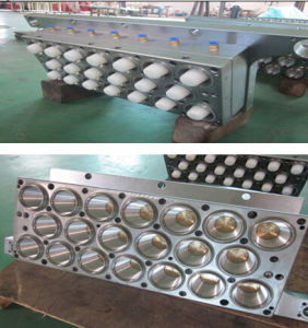 Automatic Plastic Cup Thermoforming Machine with Forming Cutting Station pictures & photos