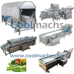 Washing Machine for Vegetables and Fruits Processing Line/Washer pictures & photos