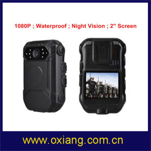 Waterproof HD1080p Police Body Worn Camera with Remote Control and External Mini 1080P Camera pictures & photos
