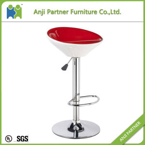 Buy Direct From China Factory Swivel ABS Plastic Bar Stool Without Wheels (Saola) pictures & photos