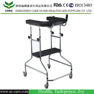 Aluminium Walker with Wheels, Walking Aid, Forearm Walker pictures & photos