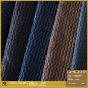 PU Articial Net Design Shoes Leather (S008) pictures & photos
