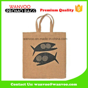 Fashion Promotional Shopping Jute Ladies Eco Bag pictures & photos