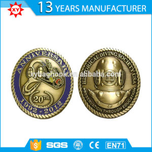 Custom Metal Souvenir Baseball Coin for Club pictures & photos