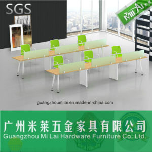 Modern Simple Straight Office Desk with Patented Steel Frame pictures & photos