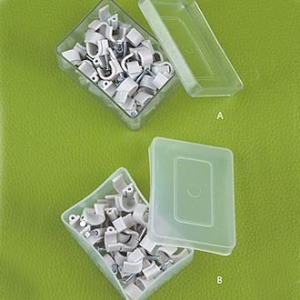 Round Wire Clips (cable clips) pictures & photos