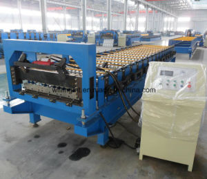Profile Roofing and Walling Sheet Metal Cold Roll Forming Machine Roll Former pictures & photos
