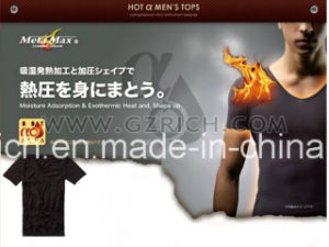 Moisture Adsorption & Exothermic Heat & Shape up Shirt pictures & photos