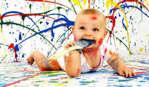 Hualong Non Toxic Emulsion DIY Children Room Paint Without Additives pictures & photos
