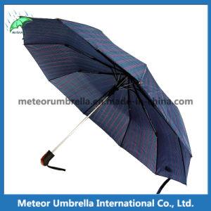 The Best Classic Mens Blue Folding Automatic Umbrella