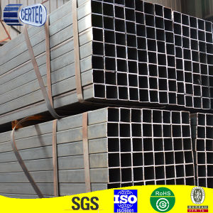 38X38mm ERW square steel tubes rectangular black steel pipe pictures & photos