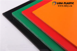 Dard Gray Rigid PVC Sheet for Welding Container Tank pictures & photos
