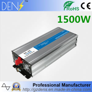 Solar System Pure Sine Wave Power DC to AC Inverter 1500W pictures & photos