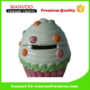Home Decoration Ceramic Ice Cream Sharped Piggy Box pictures & photos
