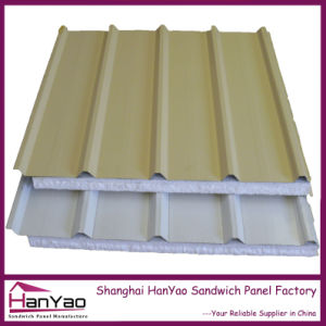 Thermal Insulation Galvanized Steel EPS Sandwich Panel pictures & photos