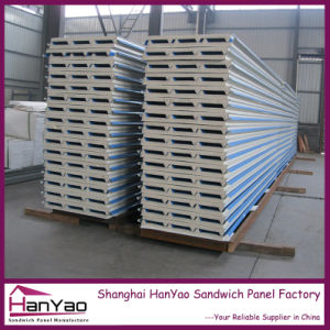 Thermal Insulation Steel EPS Sandwich Roofing Panel pictures & photos