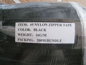 #5 Nylon Zipper pictures & photos