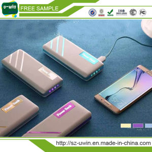 Universal Portable Power Bank with 20000mAh pictures & photos