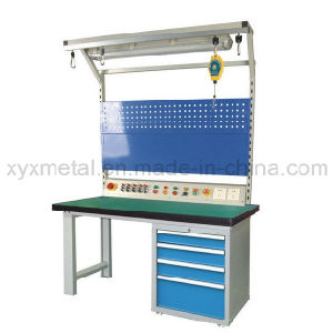 Heavy Duty Garage Cold-Rolled Steel Workbench with Power Bar pictures & photos