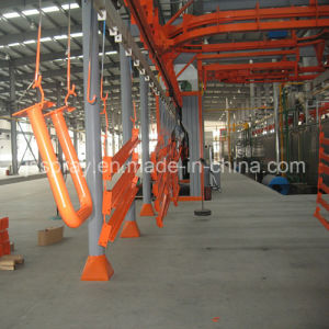 New Manual/Automatic Electrostatic Powder Coating Line with Tunnel Furnace