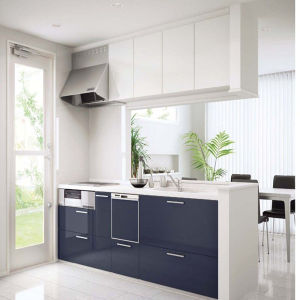 Eco-Friendly E1 UV MDF for Kitchen Cabinet Door (ZH-947) pictures & photos
