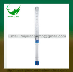 6 Inches Good Quality Stainless Steel Submersible Borehole Deep Well Pump Electric Pompa with Ce Approved pictures & photos