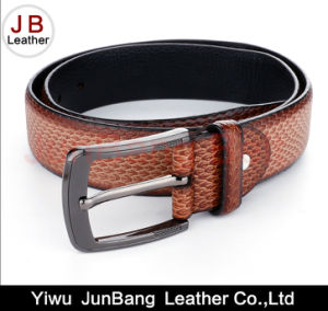 Latest Fashion Men Genuine Leather Belts pictures & photos