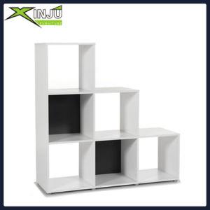 MDF Oak Finish 9 Cube Shelf Books Storage Unit
