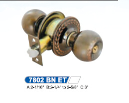 High Security Cylindrical Knob Door Lock pictures & photos