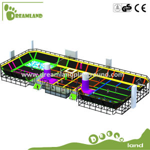 According to Your Room Size Size Sky Zone Indoor Trampoline Park pictures & photos