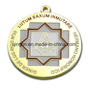 Custom Round Shape Competition Medals with Logo (QL-JP-0023) pictures & photos