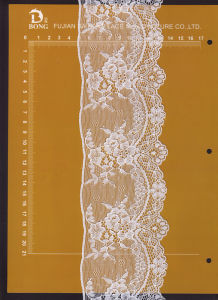 8cm Narrow Knitted Lace Used for Underwear, Garments, Bra