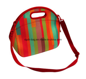 Fashion Colorful Neoprene Lunch Tote Bag for Adult Lunch Bag pictures & photos