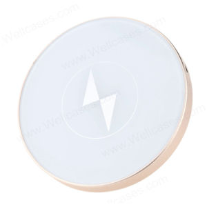 Slim High Quality Metal Wireless Charging Pad Mat Charger pictures & photos