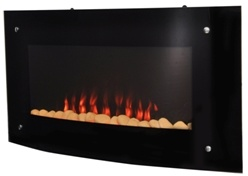 Electric Wall Hung Fireplace LED Flame