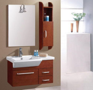 Solid Wood Modern Stylel Bathroom Vanity (ADS-645) pictures & photos