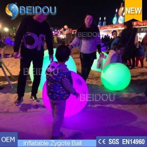 LED Lighted Touchable Advertising Crowded Balloons Inflatable Zygote Interactive Balls pictures & photos