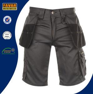 Men′s Cotton Multi Pockets Woking Short Pants