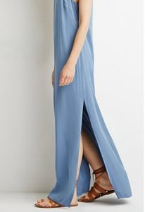 2015 Fashion Summer Casual Side Slits Slip Ladies Women Dress pictures & photos