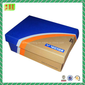 Custom Printed Kraft Corrugated Paper Shoe Box Packaging pictures & photos