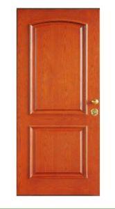 High-End Interior Wooden Fire Security Door