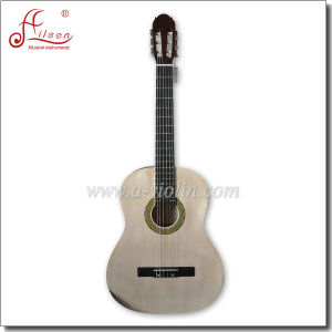 [Winzz] Wholesale Linden Plywood Top Classical Guitar pictures & photos
