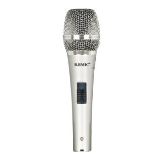 Good Sound Quality Condenser Microphone with Wire for Computer Karaoke pictures & photos