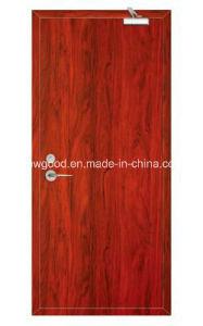 Solid Wooden Interior Door, Fire Rated Wooden Door, Natural Wood Veneered Fire Rated Wooden Doors pictures & photos