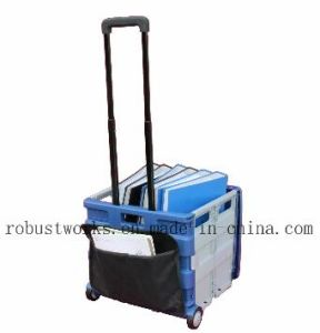 Large Folding Cart with Canvas Pouch and Top Cover (FC406LP-1) pictures & photos