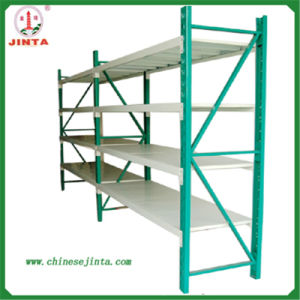 Medium Duty Teardrop Hole Shape Warehouse Racking (JT-C02) pictures & photos