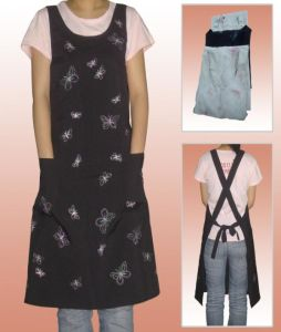 Customized Promotion Cotton Long Cooking Kitchen Apron pictures & photos