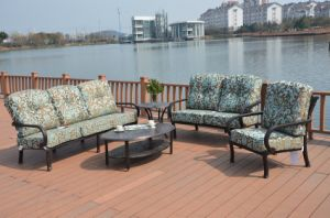 Cast Aluminum Sofa Chat Group Garden Furniture pictures & photos